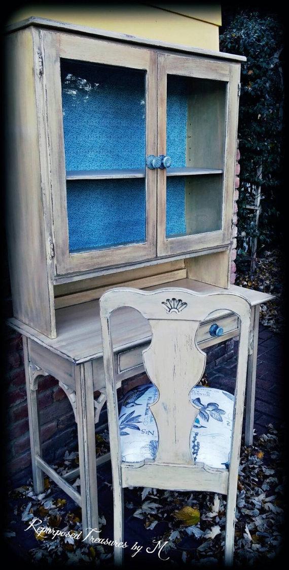vintage-blue-hutch